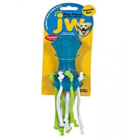 JW SQUEAKY BARBELL