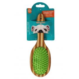 Cepillo Bambú Verde doble...