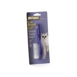 Cepillo doble para gato
