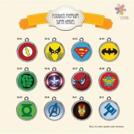 Plaquita superheroes