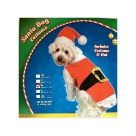 Disfraz Santa Dog Costume