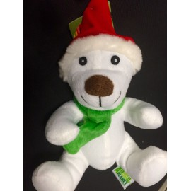 Peluche perrito blanco