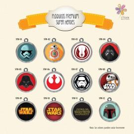 Plaquita Premium Star Wars