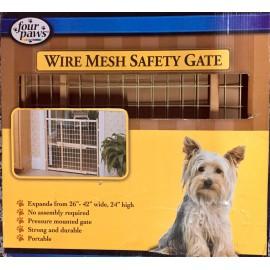 Wire Mesh Safety Gate