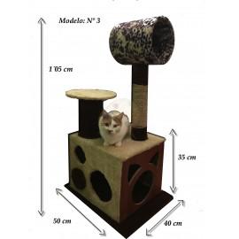 Poste caja de gato