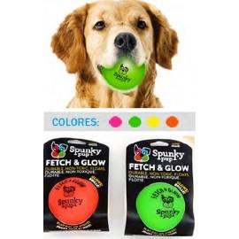 Spunky Pup Fetch y Glow Ball