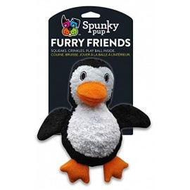 Spunky Furry Friends pinguino