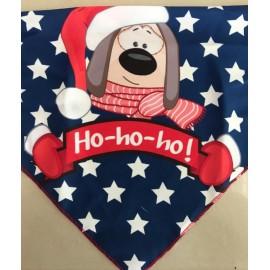Pañuelo navideño perro