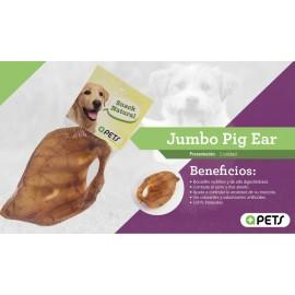 Jumbo Pig Ear MASQPETS