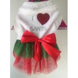 Vestido Amo Santa