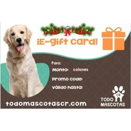 Gift Card Todo Mascotas