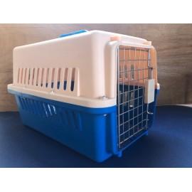 Transportadora pequeña azul